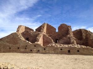 Pueblo Del Arroyo, Chaco Canyon, NM